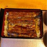 天春 - 天然鰻5500円。7/29。旬の少し前ですが、 身がしっかりで、味わい良し‼