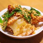 喜記 - 大海老のチリガーリック炒め