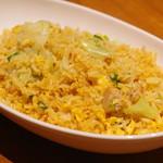 喜記 - 鶏肉と塩漬け魚のチャーハン
