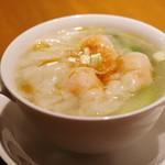 喜記 - 海老ワンタン麺