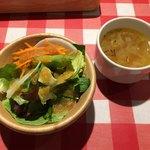 キッチンカリオカ - サラダとスープ