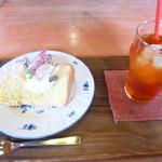 アトリ - 料理写真:シフォンケーキセット