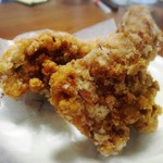 肉のヤマキ商店 - 唐揚げ84→42円