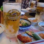 8832712 - 宴会開始・・・まずは生ビールで乾杯~!