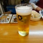 飲み処喰べ処 旅 - 生ビール(350円)