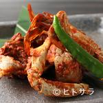 炭火焼肉 KOMA GINZA - 自家製ケジャン