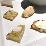 ラ・パンセ - 前菜も一つ一つ全て美味しい