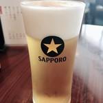 銀座 天國 - ランチビール 270円