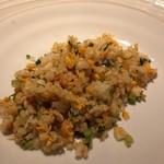 鉄板中華 伊とう - ■タラバ蟹の炒飯