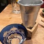 夜ノ焼魚 ちょーちょむすび - 冷酒(阿部甚)
