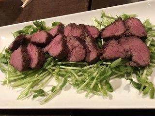肉山 名古屋 - カンガルーのヒレ肉