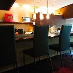 レストラン 一 - カウンター席