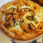 グッドモーニングカフェ - しいたけのピッツァ