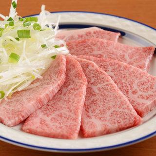 濃厚なうま味が特徴の東北地方の黒毛和牛をお楽しみください