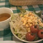 オムライスの店 Tanpopo - スープとサラダバー第一陣