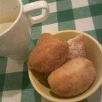 オムライスの店 Tanpopo - ふわふわドーナッツ、これもバー