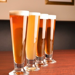居酒屋メシにクラフトビール!