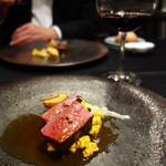 ル マルシャンド ボヌール - お肉料理。
