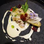 ル マルシャンド ボヌール - 冷たい前菜。