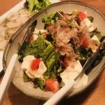 風と松 - 豆腐サラダ