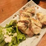 風と松 - 追加で鶏肉チーズ焼き