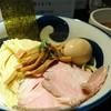 九十九里煮干つけ麺 志奈田 - 料理写真:濃厚海老つけ麺 1000円 味玉 100円