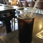 ダボレラ - パックのコーヒーかな?でもアイスコーヒー付きで700円は嬉しいですね!(2018.6.28)
