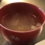 ダボレラ - 玉ねぎ、人参など野菜のスープ(2018.6.28)