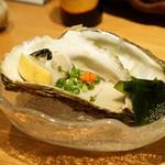 酒庵 田なか - 岩ガキ