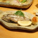 酒庵 田なか - メヒカリの塩焼き