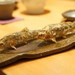 酒庵 田なか - 料理写真:若鮎の天ぷら