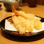 酒庵 田なか - 海老の天ぷら