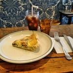 Good Company The American Pie - キッシュとコーヒー さっぱり 塩控えめで嬉しい!