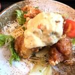 TOKYO都庁議事堂レストラン - チキン南蛮定食 mogumogu
