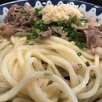 き田たけうどん - 細麺だけど美味いんですよね〜。