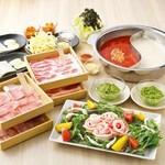 しゃぶしゃぶ温野菜 - 夏の肉鍋