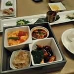 Tentsuusaikan - [料理] 美食同源 セット全景♪w