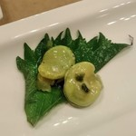 天厨菜館 - [料理]天厨おたのしみ小菜 空豆 アップ♪w