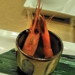Tentsuusaikan - [料理] 天厨おたのしみ小菜 甘海老 アップ♪w
