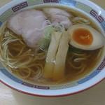88347970 - 煮干しらーめん(薄口醤油)  780円