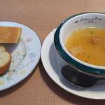 ハングリー - バゲット     玉ねぎのスープ