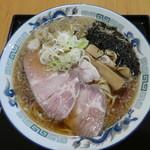 麵屋春馬 - 朝ラーのしょうゆ650円