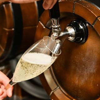 ワインの概念を覆す、《樽生》の超新鮮ワインのおいしさに感激!