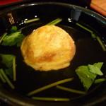 ぶぶ亭 - ☆三つ葉ちゃんのお出汁にプカプカ浮いてます(^◇^)☆