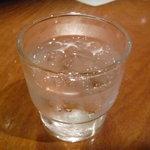 ぶぶ亭 - ☆お水グラスはこちらです(^^♪☆