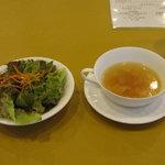 8835577 - スープとサラダ