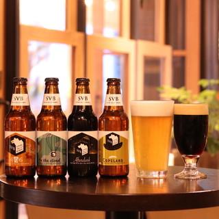 カクテルも充実!日替わりでクラフトビールが楽しめます♪