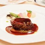 神戸ポートピアホテル - 料理写真:☆仔牛フィレ肉のロースト