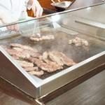 神戸ポートピアホテル - ビーフ鉄板焼きコーナー