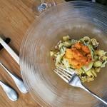 88354508 - 塩水雲丹と焼き茄子の冷製カッペリーニ